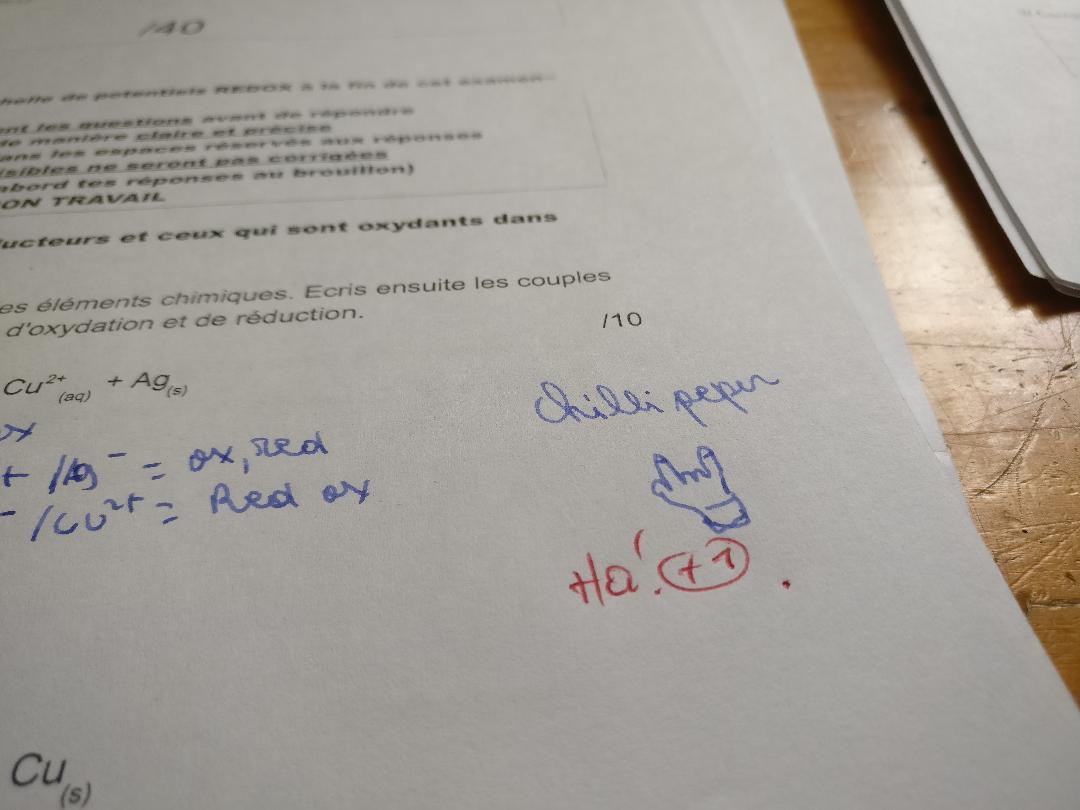 perles d'examens