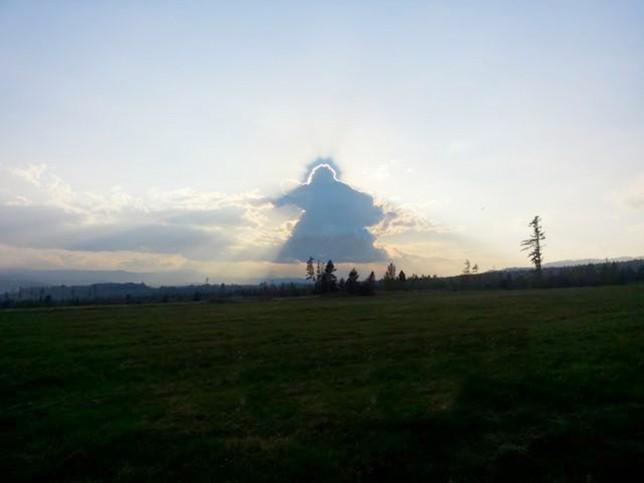 Jésus nuage