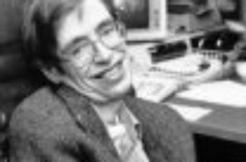 Article : Si seulement j'avais connu Stephen Hawking plus tôt…