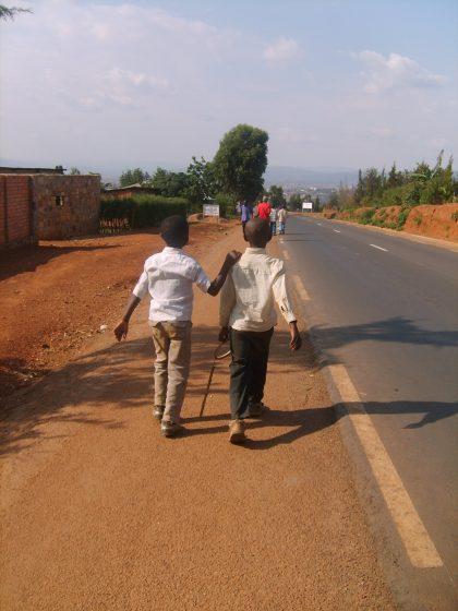 En revenant de Nyamata