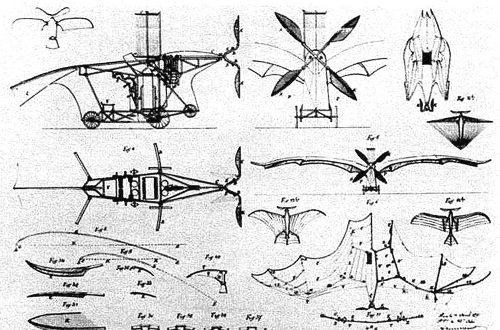 Article : Le premier avion de l'histoire a été inspiré par l'aile de la chauve-souris